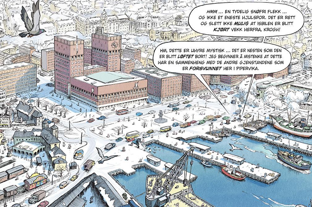 Arkitekturstriper -architettura e fumetti in mostra a Oslo
